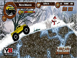 Artic Monster Truck game