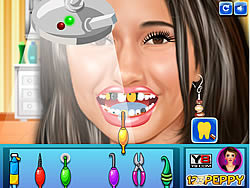Game Emmanuelle Chriqui at Dentist
