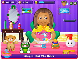 Little Daisy HairCare игра