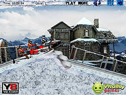 Game Snowmobile Racing