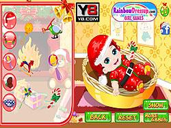 Game Cute Santa Baby