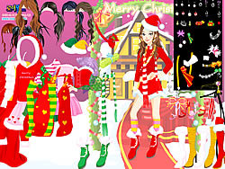Christmas Charlotte Dressup game