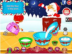 無料ゲームのSanta Velvet Cupcakesをプレイ