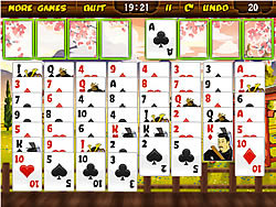 Game Samurai Solitaire y8