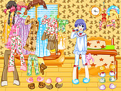 Pajama Dressup oyunu