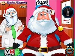 玩免费游戏 Santa Eye Care Doctor