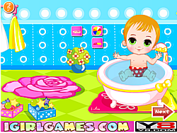 Permainan Baby Bathing Games For Little Kids