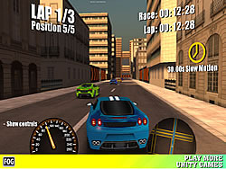 Game Street Racing Fog