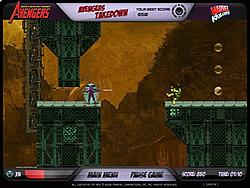 Spielen Sie das Gratis-Spiel  Avengers: Takedown
