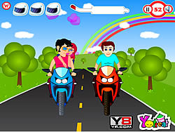Go For Ride Kiss game