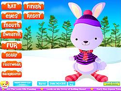 無料ゲームのWinter Rabbit Dressupをプレイ