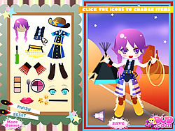 Game Cowgirl Dressup