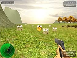 Game Cubeshooter Arcade