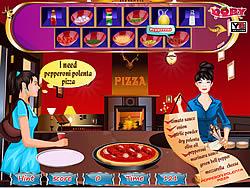 Game Delicious pizza corner
