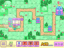 Pixi Tower Defense game