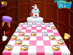 Game Checkers of Alice in Wonderland
