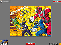 Game Power Rangers Puzzle