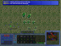 Tank Wars RTS game
