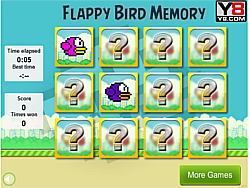 Game Flappy Bird Memory
