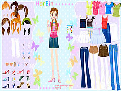 Game Hanbin Dress up