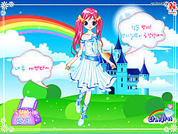 Game Lucy Gowns Dressup