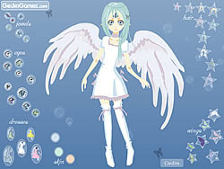 Game Sad Fairy Dressup