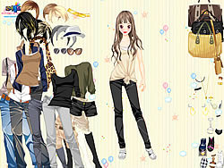 Work Style Dressup game