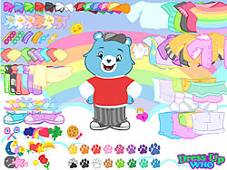 Gioca gratuitamente a Care Bears Dress Up