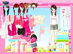Gioca gratuitamente a Pink Closet Dressup