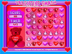 Valentine Smash game