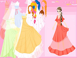 Evening Gown Dressup game