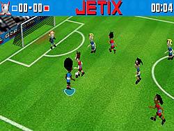 Jogar jogo grátis Jetix Soccer