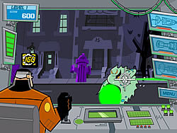 Danny Phantom: Action Jack game