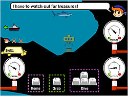 Treasure Seas Inc. game