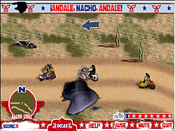 Gioca gratuitamente a Nacho Libre: Andale, Nacho, Andale