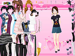 Summer Fashion Dressup oyunu