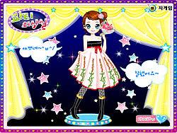 Kim Dancer Dressup  joc