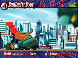 Fantastic Four Rush Crush jeu