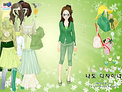 Game Green Life Dressup