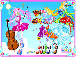 Violin Dressup παιχνίδι