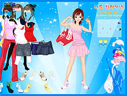 Sneakers Dressup game