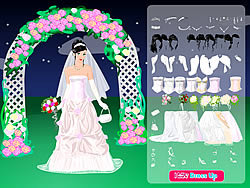 Night Bride Dressup game