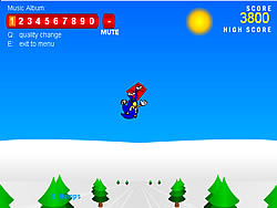 Sonic 3D Snowboarding game