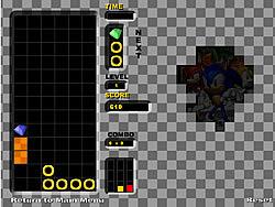 Juego Sonic Hero Puzzle