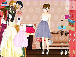 Game Elegant Fashion Dress Up