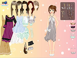 Gioca gratuitamente a Chique Gown Dress Up