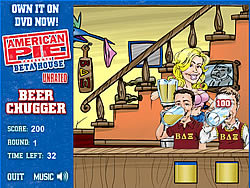 American Pie - Beer Chugger game