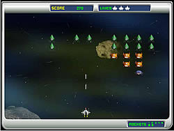 Juego Alien Attack Game