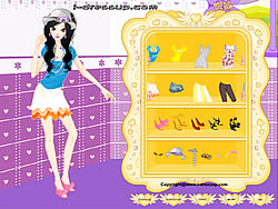 Girl Dressup Makeover game