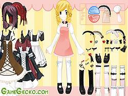 무료 게임 플레이 Gothic Lolita Dressup